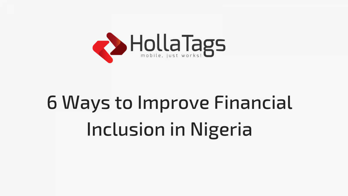 HollaTags, Blog banner-Financial Inclusion