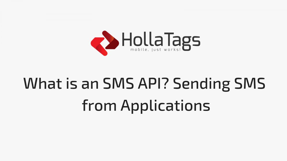 Blog post banner What is an SMS API?